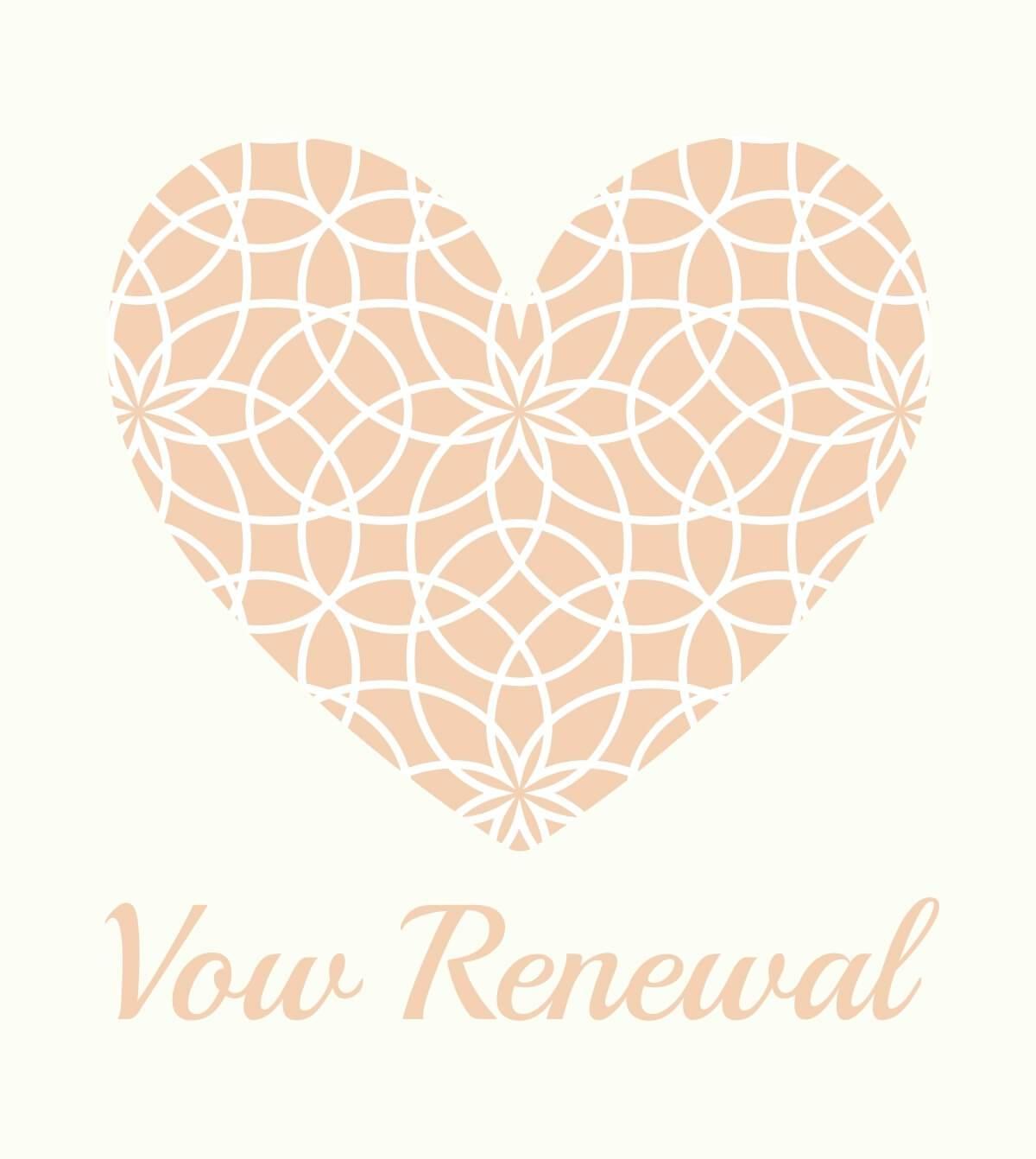 Vow Renewal Package